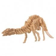 Dřevěné 3D puzzle dinosauři - velký Apatosaurus BJ005