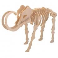 Dřevěné 3D puzzle skládačka - dinosauři - Mamut J011