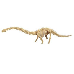 Dřevěné 3D puzzle skládačka dinosauři - Diplodocus J019