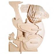 Dřevěné 3D puzzle dřevěná skládačka zvířata - Koala M043