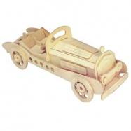 3D drevené puzzle skladačka autá - Mercedes SLK P013