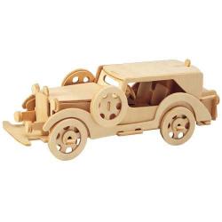 Dřevěné 3D puzzle auta - Ford model V8 P014