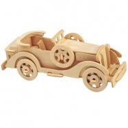 Dřevěné 3D puzzle - skládačka auta - Packard Twelve Car P015