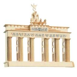 Drevené skladačky 3D puzzle Brandenburgská brána P078