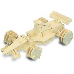 Drevené 3D puzzle drevená skladačka autá - Formula 1 P081
