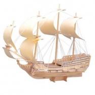 Dřevěná skládačka  - Loď plachetnice Orel P128