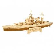 Dřevěná skládačka  - Bitevní loď  Prince of Wales P216
