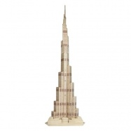 Dřevěná skládačka - Věž Dubaj P246