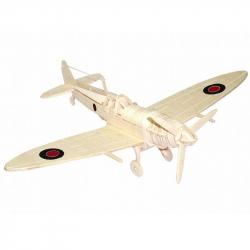 Dřevěná skládačka - Spitfire P301
