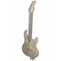 Drevené skladačky 3D puzzle - Elektrická gitara GPM002