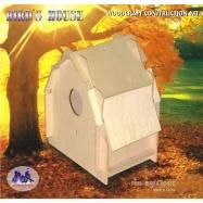 Dřevěná skládačka - Ptačí budka P086