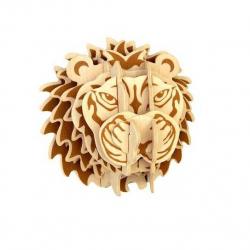 Drevené skladačky 3D puzzle - Hlava leva