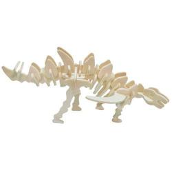 Drevené 3D puzzle skladačka - dinosaury Gigantspinosaurus