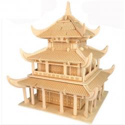 Dřevěná skládačka - Čínský Yueyang G-P239