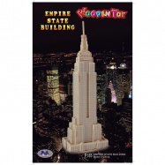Drevené skladačky 3D puzzle - Empire state building P185