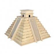 Dřevěná skládačka - Pyramida Inků P253