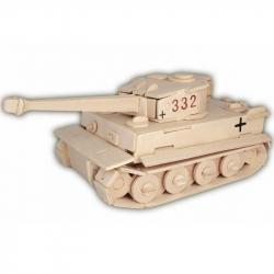 Dřevěná skládačka - Tank Tiger MK1 P322