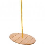 Huśtawka drewniana, talerzowa (do 30 kg)
