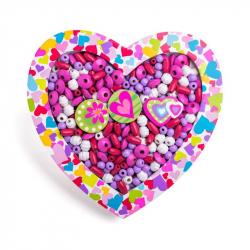 Navliekacie koráliky - Srdce