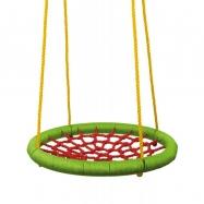 Hojdací kruh (priemer 83 cm) - zeleno červený