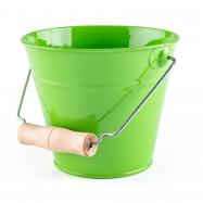 Zahradní kyblík - zelený, kov