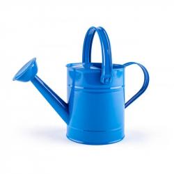 Kropiaca kanva - modrá, kov