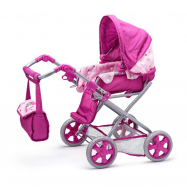 WOODY Wózek dla lalki Jednorożec – mały
