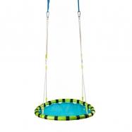 Skládací houpací kruh - modrý