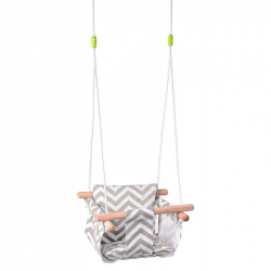 Hojdačka pre bábätko, textilná