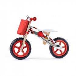 Odrážadlo motorka, červená
