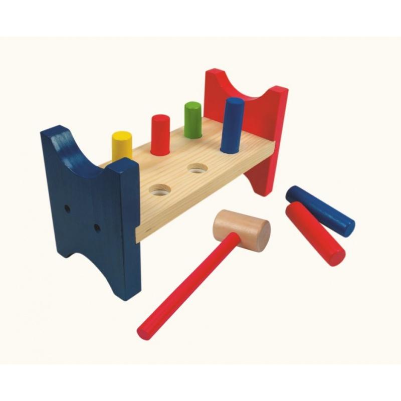 Dřevěné hračky - Zatloukačka Woody