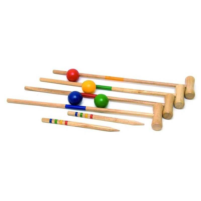 Sportovní hry Woody - Kroket Zahradní v síťované tašce
