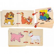 Dřevěné hračky - Obrázková knížka  quot Mašinka quot