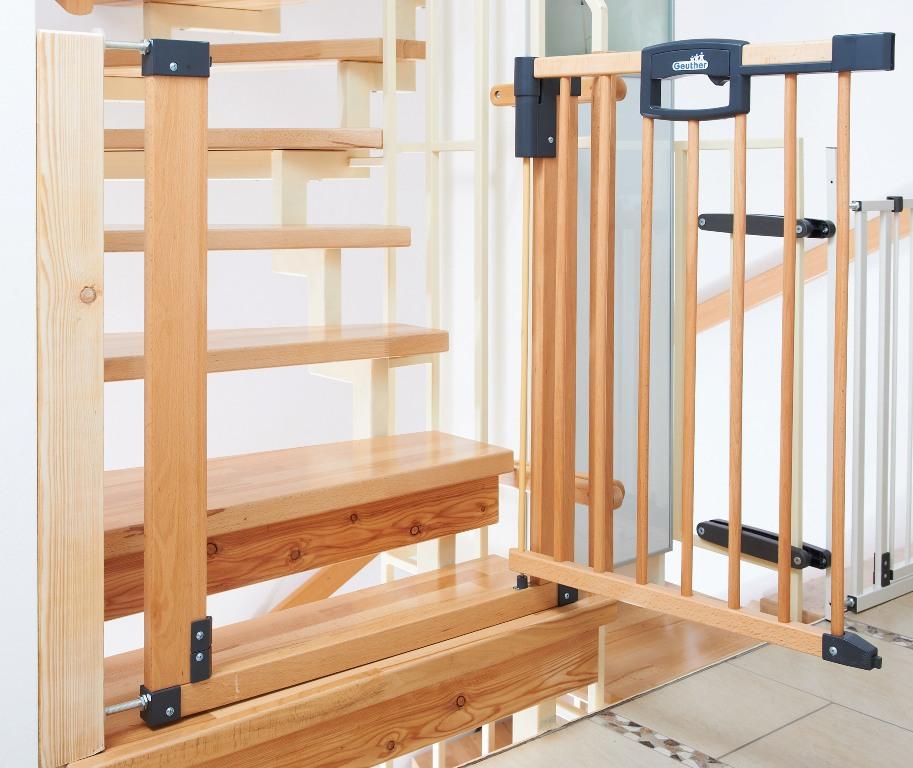 Zábrana na schody otevírací Easylock Natur 80,5 - 88,5cm