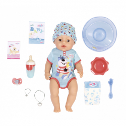 BABY born s kúzelným cumlíkom, chlapček, 43 cm