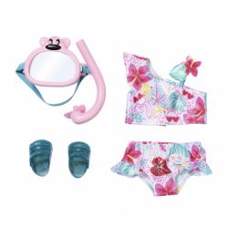 BABY born® Souprava plavky a šnorchl, 43 cm