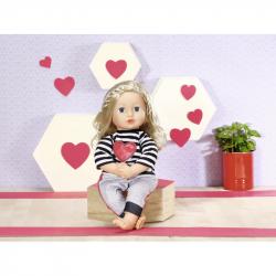 Dolly Moda Pruhovaná teplákovka, 43 cm