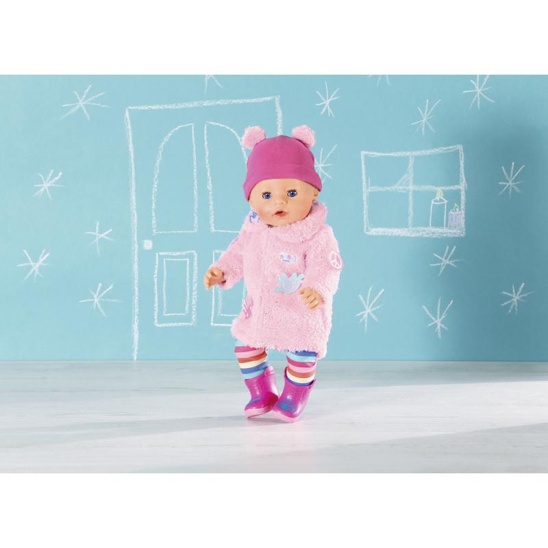 Zimní souprava s kožíškem Deluxe BABY born, 43 cm