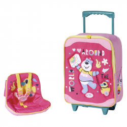 BABY born Kufrík so sedačkou pre bábiky