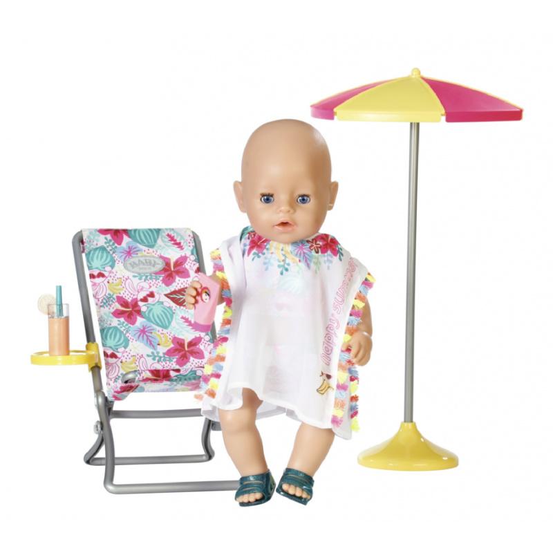 BABY born Súprava s ležadlom 43 cm