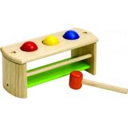 Dřevěná zatloukačka kuličky