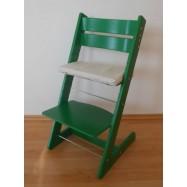 Detská rastúca stolička JITRO KLASIK zelená
