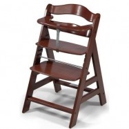 AKCE! Rostoucí dětská židle Alpha walnut + sedák ZDARMA