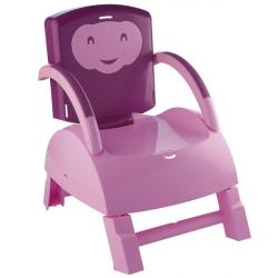 Jedálenská stolička Thermobaby Skladacia Ružová