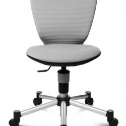 Rosnące krzesełko TITAN JUNIOR 3D szare