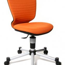 Rosnące krzesełko TITAN JUNIOR 3D pomarańczowe