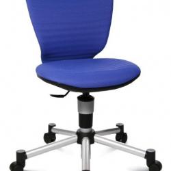 Rosnące krzesełko TITAN JUNIOR 3D niebieskie