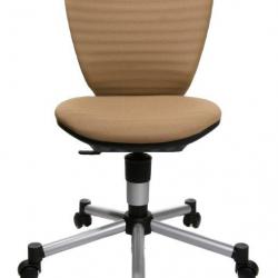Rosnące krzesełko TITAN JUNIOR 3D brązowe