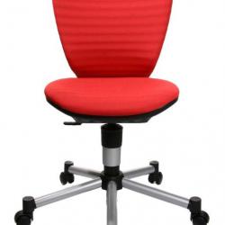 Rosnące krzesełko TITAN JUNIOR 3D czerwone
