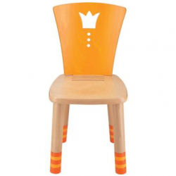Dětská dřevěná židlička Haba Garden Cottage žlutá